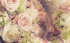 Picture flowers, flowers, wedding, bouquet, roses, bouquet, roses, wedding