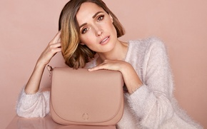 Wallpaper white, look, makeup, advertising, actress, hairstyle, photographer, handbag, photoshoot, brand, Rose Byrne, Rose Byrne, jumper, ...