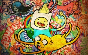 Picture Jake, Adventure Time, Fin, Adventure Time