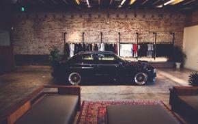 Picture lights, BMW, rims, reflection, E30, couch, carpet, clothes