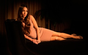 Picture Megan Fox, style, dress, photoshoot, USA Today