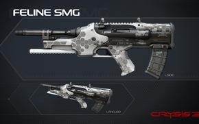 Picture wallpaper, Crysis, gun, game, weapon, texture, rifle, Crysis 3, assault rifle, SCI Fi, CryEngine, Critek, …
