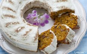 Wallpaper muffin, glaze, cakes, cupcake