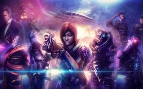 Picture mass effect, Legion, Shepard, Garrus Vakarian, Geth, Reaper, Liara T Soni, Prothean, Javik, Turian, Normandy …