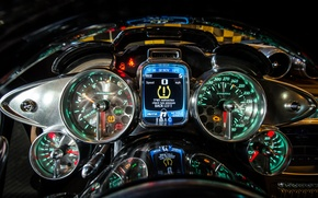Picture Pagani, Devices, Interior, To huayr