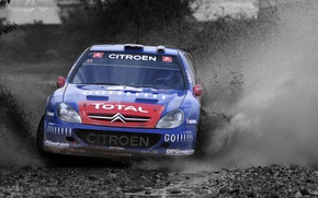 Picture Water, Auto, Blue, Sport, Machine, Logo, The hood, Day, Citroen, Squirt, WRC, Rally, Rally, The …