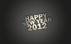 Wallpaper letters, background, holiday, new year, texture, point, figures, 2012, the number, words, happy new year, ...