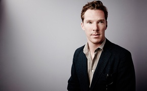 Picture photoshoot, Benedict Cumberbatch, for the film, The imitation game