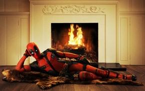 Wallpaper Ryan Reynolds, Deadpool, Marvel, Wade Wilson, Movie, 2016
