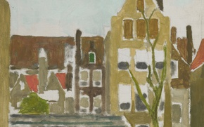 Picture picture, the urban landscape, Georg Hendrik Breitner, Group Homes