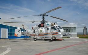 Picture helicopter, average, transport, Ka-32