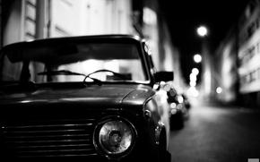 Picture machine, the evening, penny, car, classic, Lada, Lada, 2101