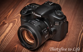 Picture table, Wallpaper, the camera, Canon EOS 60D