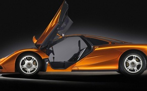 Picture roadster, orange, mclaren