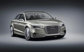 Picture Sedan, sedan, Audi, Concept, e-Tron, electric car, Audi