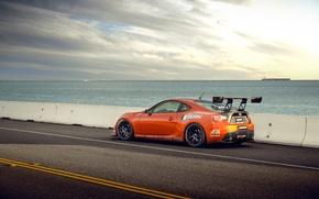 Picture orange, tuning, profile, Toyota, tuning, orange, Scion, Scion, fr-s, FR-s