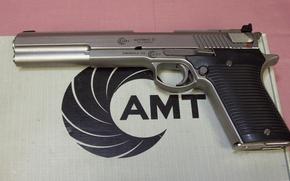 Picture gun, box, semi-automatic, OFFICE, Automag III