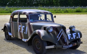 Picture Citroën, car, the front, Traction FFI