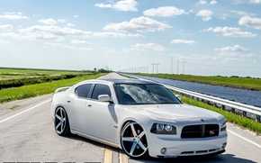 Picture Dodge, Charger, concave, lowered, on 22 CW-5