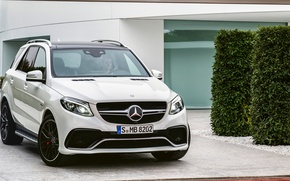 Picture Mercedes, AMG, 4MATIC, 2015, GLE, 63S