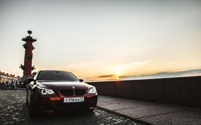 Picture machine, auto, BMW, Shadow, auto, review, E60, Smotra