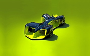 Picture car, wallpaper, race, speed, electric, racing, fast, technology, electric car, bold design, Formula E, artificial …