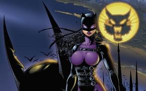 Picture night, uniform, latex, Catwoman Guardian Of Gotham