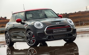 Wallpaper Mini, mini, Cooper, John Cooper Works, 2015, F56, ZA-spec