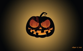 Picture pumpkin, Halloween, the feast of all saints