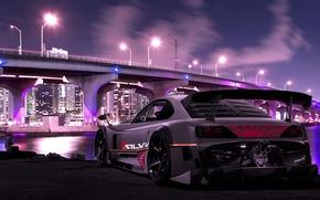 Picture Bridge, The city, Tuning, Nissan, Nissan, Tuning, Sylvia, Silvia S15, Silvia R