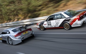 Picture movement, audi, two, sport, DTM, German Touring Car Masters