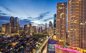 Picture building, Indonesia, Jakarta, Indonesia, Casablanca Street, Jakarta