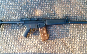 Picture weapons, machine, German, Heckler & Koch, HK33