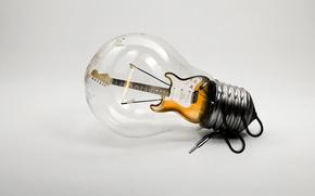 Picture music, lamp, guitar