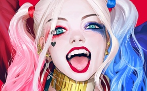Picture Girl, Art, Harley Quinn, DC Comics, Harley Quinn, Suicide Squad