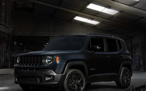 Picture the barn, Jeep, Renegade