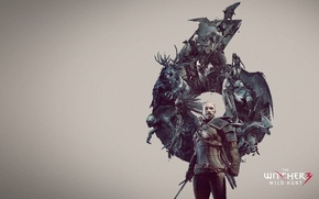 Picture hunting, the Witcher, wild, witcher, wild, hunt