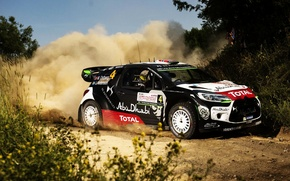 Picture Grass, Dust, Citroen, DS3, WRC, Rally, Rally, Mads Ostberg