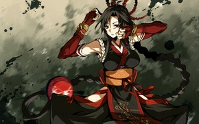 Picture Girl, dress, braid, look., Kaji Wait To Wring Kaguya, Resistant
