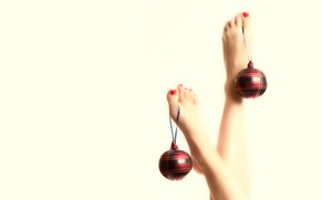 Picture balls, legs, it's just a holiday