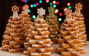 Picture tree, cookies, Christmas, New year, Christmas, cakes, decoration, xmas, Merry