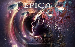 Picture metal, gothic, sympho, Epica, The Holographic Principle