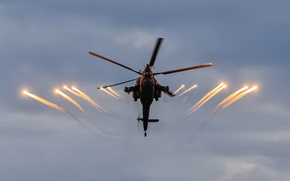 """Picture helicopter, Russian, shock, """"The eagles"""", Mi-28N"""