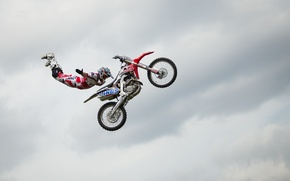 Picture jump, sport, motorcycle