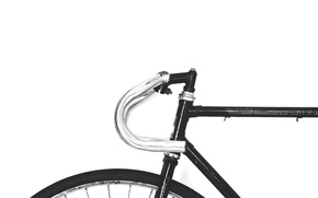 Picture wall, bicycle, bike, black and white, transport, b/w, no shadows
