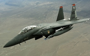 Picture bombs, UNITED STATES AIR FORCE, Afghanistan, Douglas, McDonnell, F-15E, Strike Eagle, American double fighter-bomber