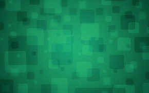 Picture abstraction, green, texture, squares