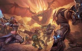 Picture starcraft, Warcraft, diablo, Jim Raynor, Heroes of the Storm, Murky, jaina proudmoore, zaratul
