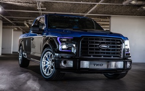 Wallpaper Ford, bumper, F150