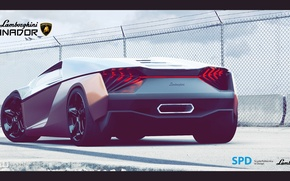Picture Lamborghini, The concept, Lamborghini, Ganador, SPD, Winner